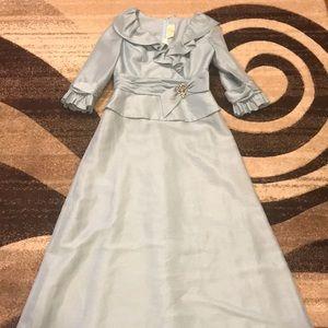 Tiffany Blue Ball Gown